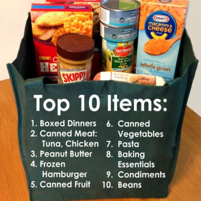Kids Care Food Drive – May 1st!