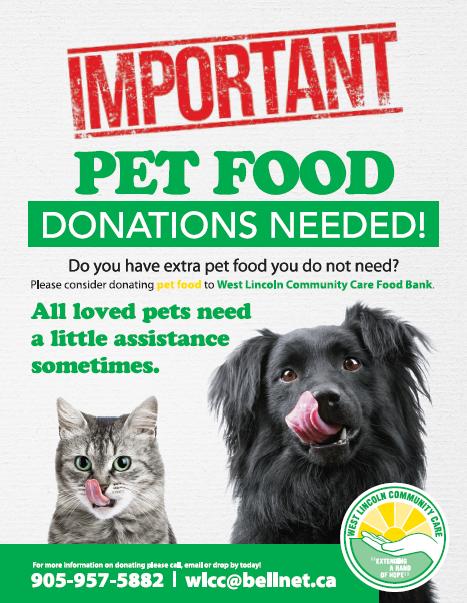 PET FOOD DONATIONS